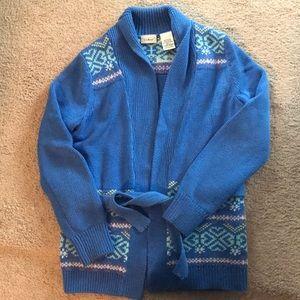 L.L. Bean girls sweater